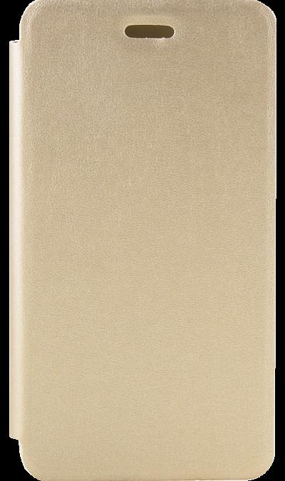 Чехол-книжка Gresso для Xiaomi Redmi 4A, кожзам, золотистый