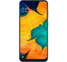 Смартфон Samsung Galaxy A30 64GB Синий