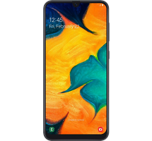 Смартфон Samsung Galaxy A30 64GB Черный