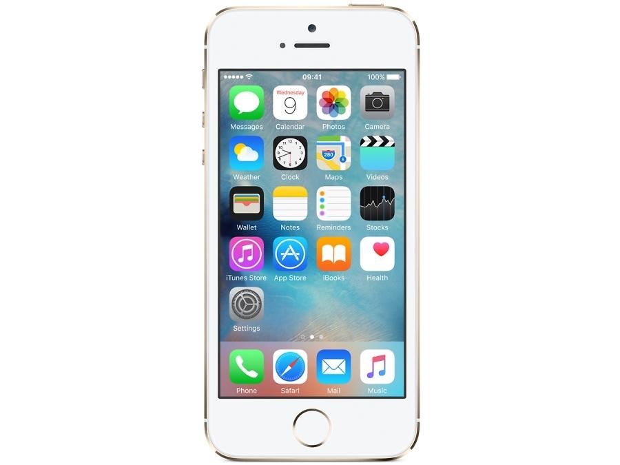 Смартфон Apple iPhone 5S 16GB Gold восстановленный (FF354RU/A)