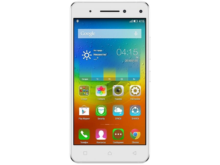Смартфон Lenovo Vibe S1a40 LTE White
