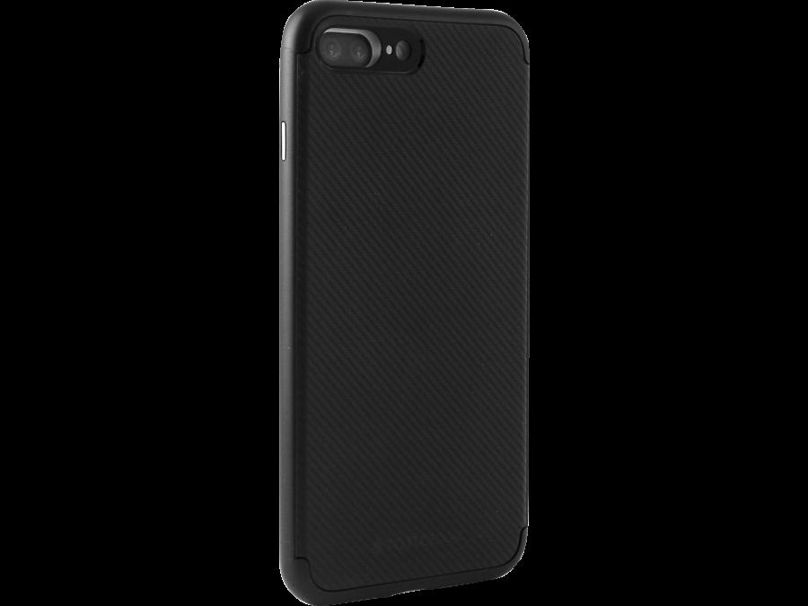 Чехол-крышка Totu для Apple iPhone 7 Plus, пластик / резина, черный