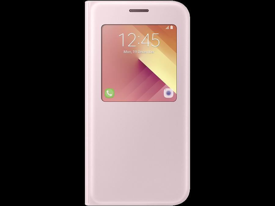 Чехол-книжка Samsung для Samsung Galaxy A5 (2017), полиуретан, розовый
