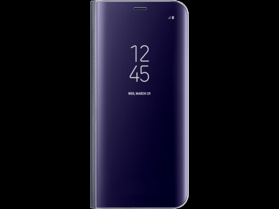 Чехол-книжка Samsung для Galaxy S8, полиуретан, фиолетовый
