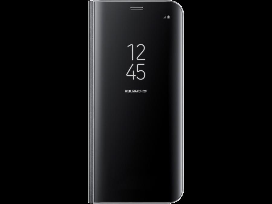 Чехол-книжка Samsung для Galaxy S8 Plus, полиуретан, черный